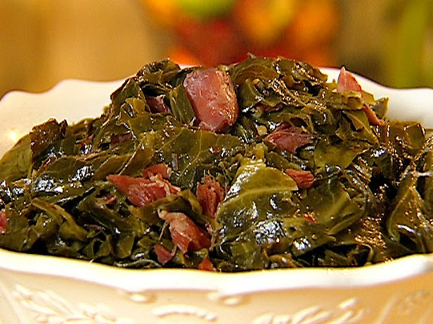 Collard Greens and Smoked Turkey Wings |